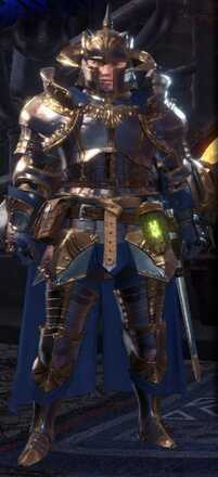 Damascus Alpha + Armor Set