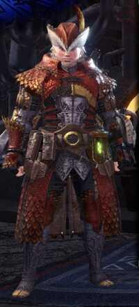 Coral Pukei Alpha + Armor Set