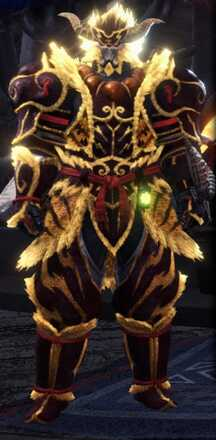 Furious Rajang Beta + Armor Set