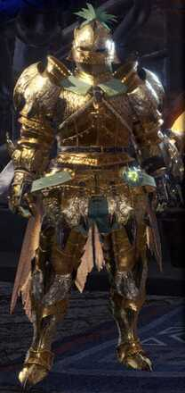 Golden Lune Beta + Armor Set