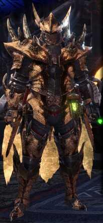 Brute Tigrex Alpha + Armor Set