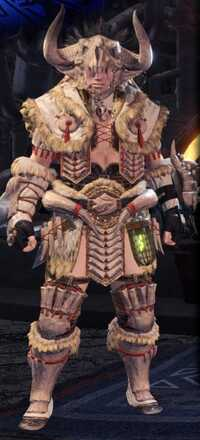 Bone Alpha + Armor Set