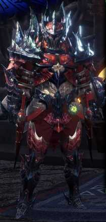 Glavenus Beta + Armor Set