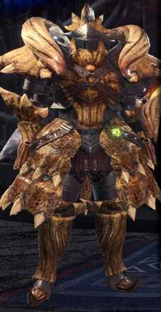 Diablos Alpha + Armor Set