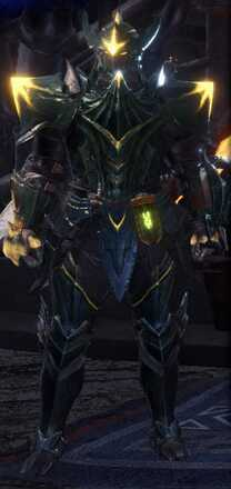 Raging Brachy Beta + Armor Set
