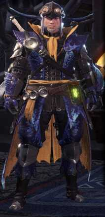 Tzitzi Alpha + Armor Set