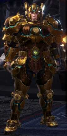 Uragaan Beta + Armor Set