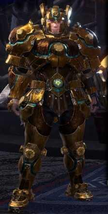 Uragaan Alpha + Armor Set