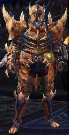 Tigrex Beta + Armor Set