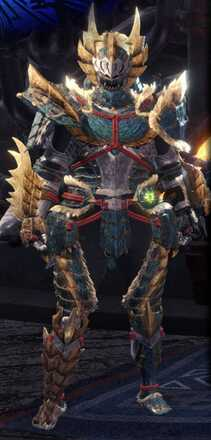 Zinogre Alpha + Armor Set