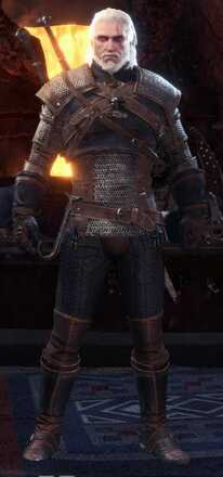Geralt Alpha Armor Set