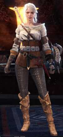 Ciri Alpha Armor Set