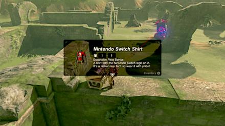 BotW - Nintendo Switch Shirt