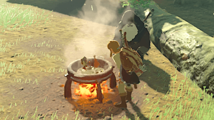 BotW - Cooking for the Old Man