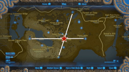 BotW - Go the the Temple of Time