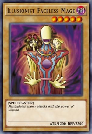 Illusionist Faceless Mage
