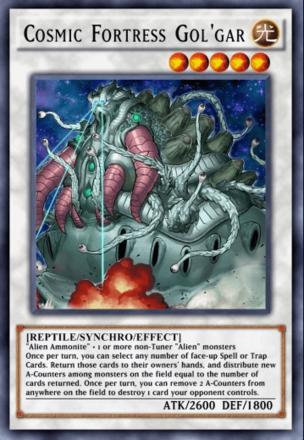 Cosmic Fortress Gol