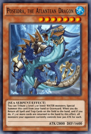 Poseidra The Atlantean Dragon