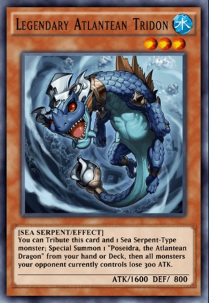 Legendary Atlantean Tridon