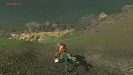 The Legend of Zelda Breath of the Wild (BotW) Going to Ridgeland Tower