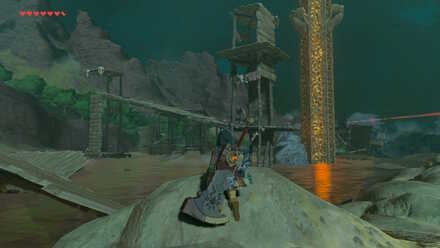 The Legend of Zelda Breath of the Wild (BotW) Woodland Tower Monsters