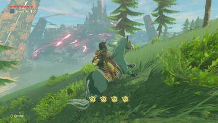 The Legend of Zelda Breath of the Wild (BotW) North of Hyrule Castle