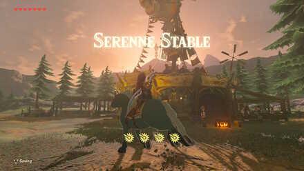 The Legend of Zelda Breath of the Wild (BotW) Serenne Stable