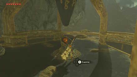 The Legend of Zelda Breath of the Wild (BotW) Activate Woodland Tower