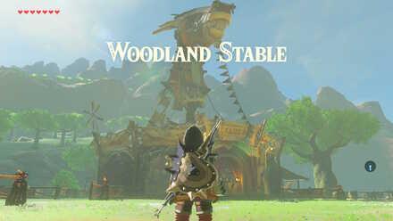 The Legend of Zelda Breath of the Wild (BotW) Woodland Stable
