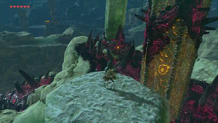 The Legend of Zelda Breath of the Wild (BotW) Destroying Eyeball at Tabantha Tower