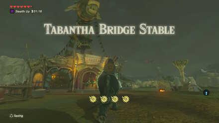 The Legend of Zelda Breath of the Wild (BotW) Tabantha Bridge Stable