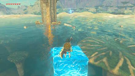 The Legend of Zelda Breath of the Wild (BotW) Ridgeland Tower