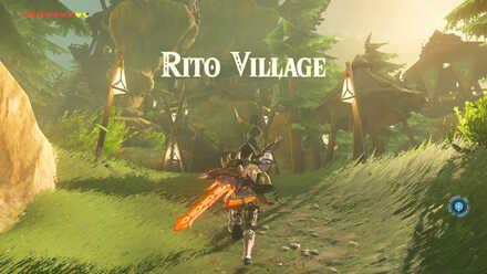The Legend of Zelda Breath of the Wild (BotW) Rito Village