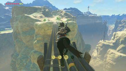 The Legend of Zelda Breath of the Wild (BotW) Kolami Bridge