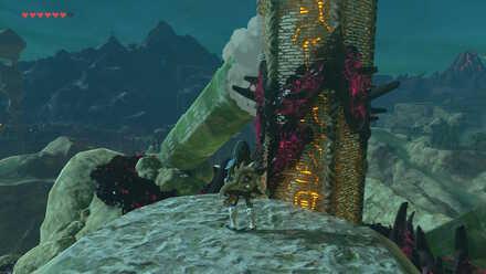The Legend of Zelda Breath of the Wild (BotW) Bridge to Tabantha Tower