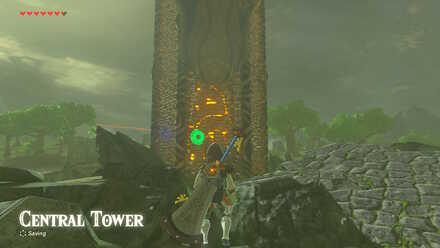 The Legend of Zelda Breath of the Wild (BotW) Central Tower