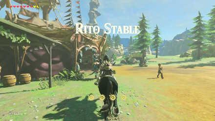 The Legend of Zelda Breath of the Wild (BotW) Rito Stable