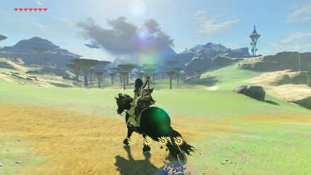 The Legend of Zelda Breath of the Wild (BotW) Getting to Ridgeland Tower