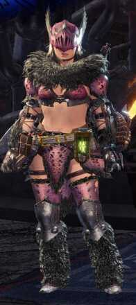 Anja Beta Armor Set