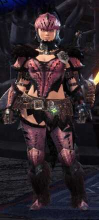 Anja Alpha + Armor Set