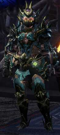Acidic Glavenus Beta + Armor Set