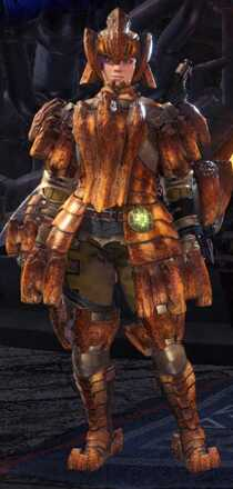 Barroth Armor Set