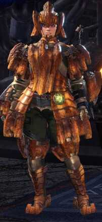 Barroth Beta Armor Set