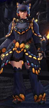 Butterfly (Female) Alpha Armor Set