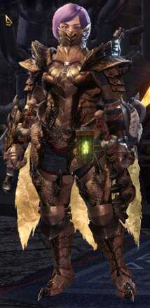Brute Tigrex Beta + Armor Set