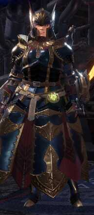 Damascus Alpha Armor Set