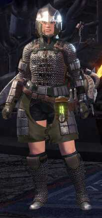 Chainmail Alpha Armor Set