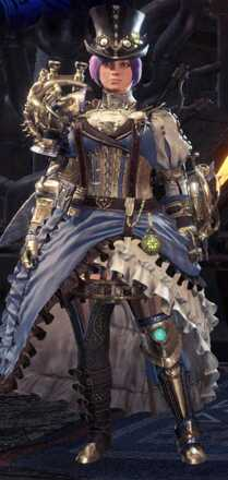 Clockwork Beta + Armor Set