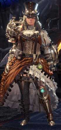 Clockwork Alpha + Armor Set