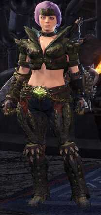 Deviljho Beta Armor Set